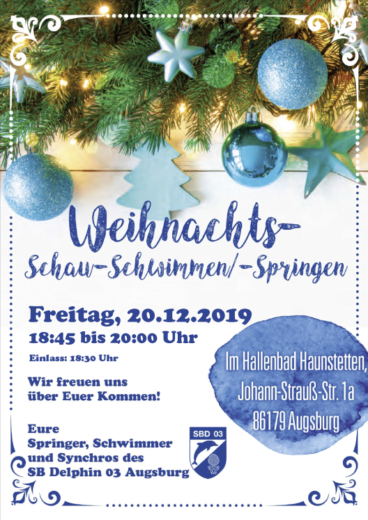 SchauschwimmenSpringen 2019 preview